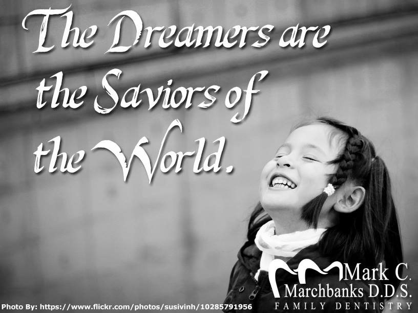 The-dreamers-are-the-saviors-of-the-world