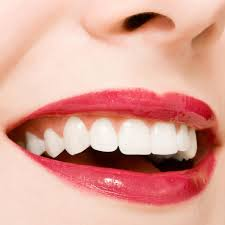 A healthy smile of a woman. If your smile is healthy, your body is healthy.
