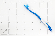 stock-photo-12831933-toothbrush-on-a-calendar