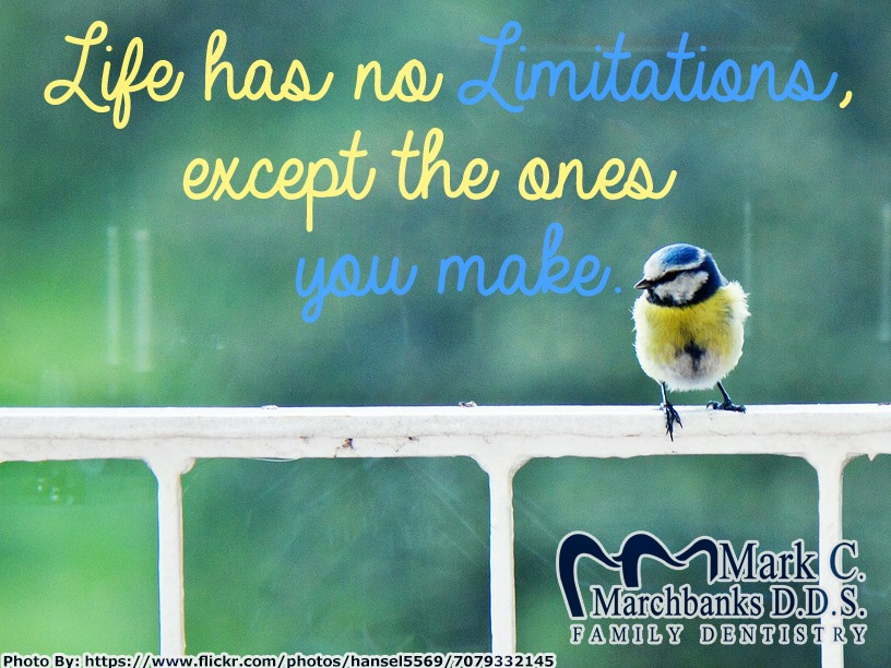 Life-has-no-limitations-except-the-ones-you-make