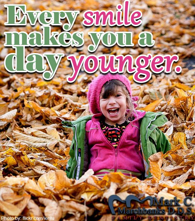 Every-smile-makes-you-a-day-younger