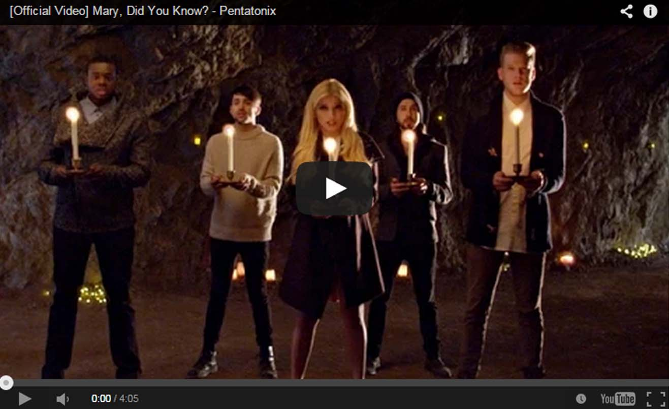 """Amazing performance by Martin High Schools Pentatonix """"Mary did you know"""""""