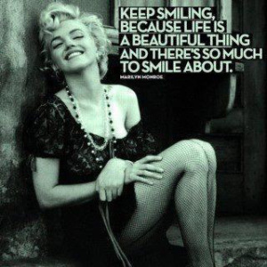 marilyn-monroe-smile-quote
