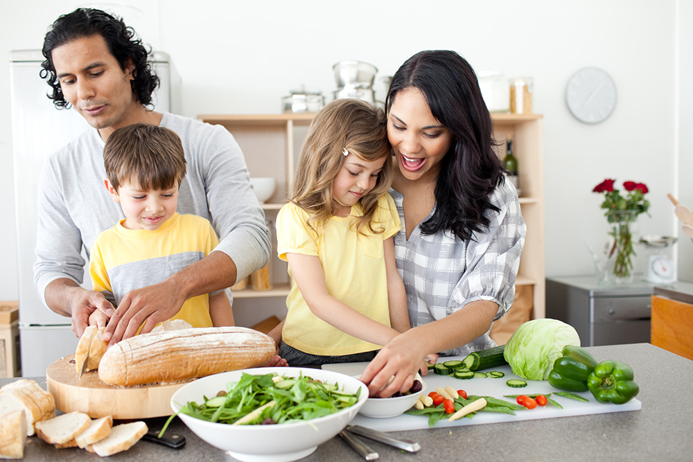 Covering All of the Bases: Teaching Your Children to Live a Healthy Lifestyle