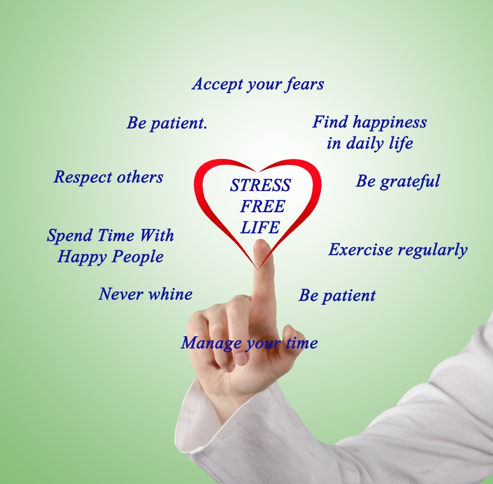 Tips to live stress-free